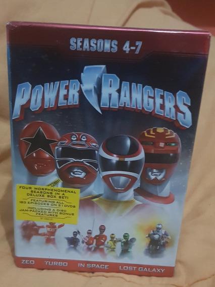 Dvd Box Power Rangers Coleção 4-7 Importado