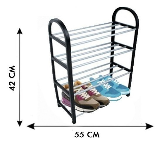 Alumínio Sapateira Desmontável Sapatos Promoção 8 Pares Casa