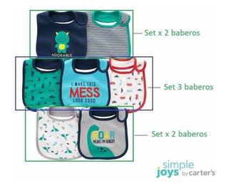 Baberos Simple Joys By Carters Tricapa Bebés