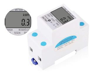 Wattimetro Sinotimer Voltimetro Amperimetro Lcd Display Digital Iluminado 110v 60hz