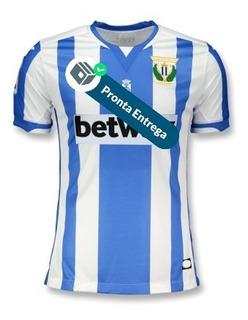 Camisa Deportivo Leganes 18/19 Uni. 1 - Pronta Entrega