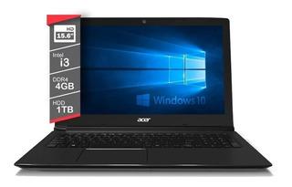 Acer Aspire Notebook I3 4gb 1tb Win10 I3-7020u 4gb 1tb.