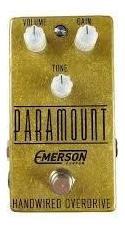 Black Friday - Pedal Emerson Paramount Gold - Novo
