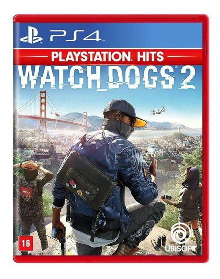 Watch Dogs 2 Ps4 Mídia Física Novo Lacrado