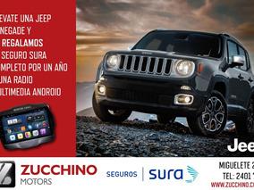 Jeep Renegade Manual + 1 Año De Seguro Gratis | Zucchino