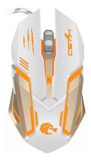 Mouse Gamer Pro Usb 3200 Dp 6 Botones Retroiluminación Led