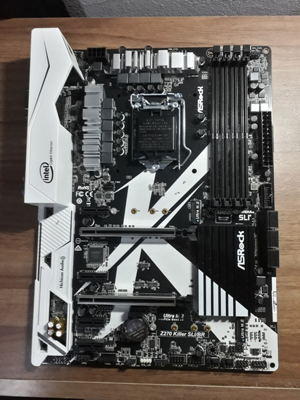 Kit I5 7400 Delid Z270 Asrock Intel Gskill 8gb + Fonte Cx650