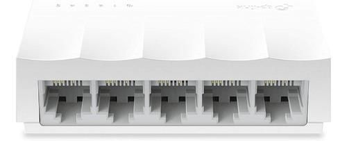 Imagen 1 de 5 de Switch 5 Puertos 10/100 Mbps Tplink  Tl-sf1005d Desktop