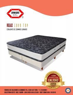 Conjunto Eurotop Resorte 160x190