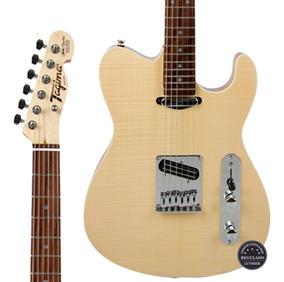 Guitarra Tagima Signature Cacau Santos Cs-3 Natural Oferta!