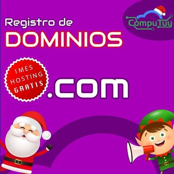 Dominios Web .com Activación Inmediata X 1 Año