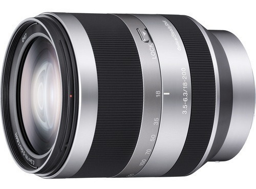 Lente Sony Alpha Nex Sel18200 E-mount 18-200mm Oss #