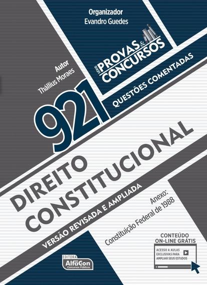 Provas&concursos 921 Questões Coment. Direito Constitucional