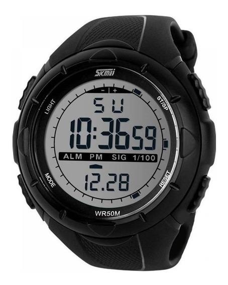 Relógio Masculino Skmei Digital 1025 Preto 1 Ano De Gar+nfe