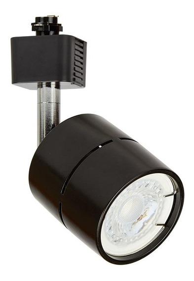 Lampara Techo Riel 50 W Negro Socket Gu10 Ysn-367l/n