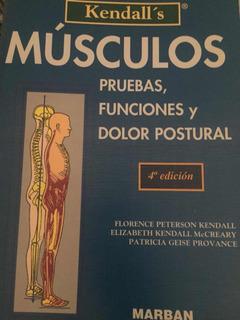 Libro Músculos Y Su Comprensión (fisioterapia)