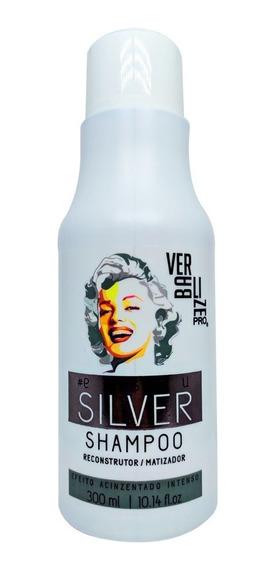 Shampoo Matizador Silver Reconstrutor Verbalize Pro - 300ml