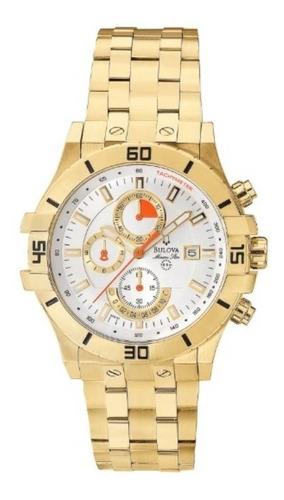 Relógio Masculino Bulova Analógico Wb30999h  Dourado