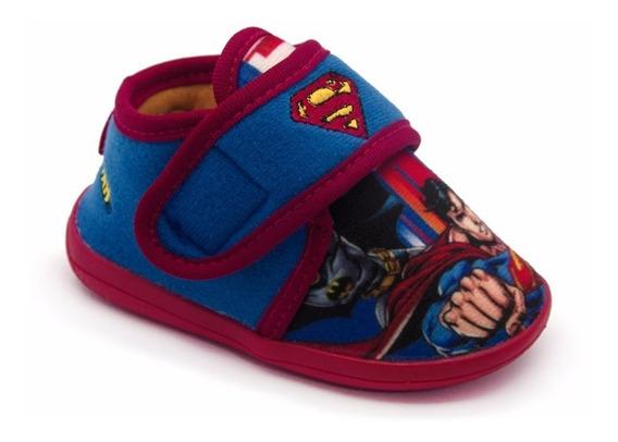 Pantufa Botinha Ricsen Batman Superman Original Do 21 Ao 28
