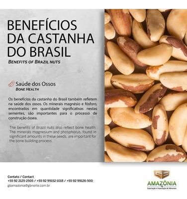 Castanhas-do-pará Ou Castanhas-do-brasil Direto Da Industria
