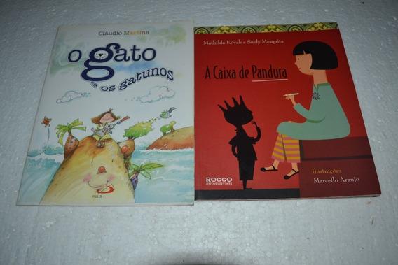 A Caixa De Pandora E O Gato E Os Gatunos - Livro 2 Livros