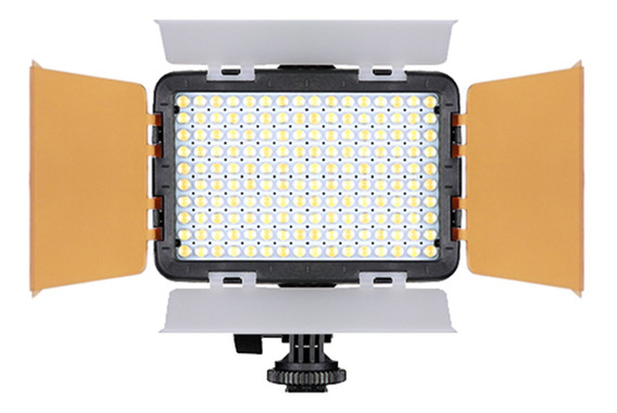 Iluminador Led Foto Vídeo 160 Turbo Para Canon Eos Rebel T6i