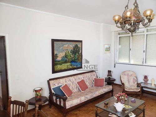 Imagem 1 de 23 de Apartamento Com 3 Dormitórios À Venda, 125 M² Por R$ 450.000,00 - Centro - Campinas/sp - Ap19151
