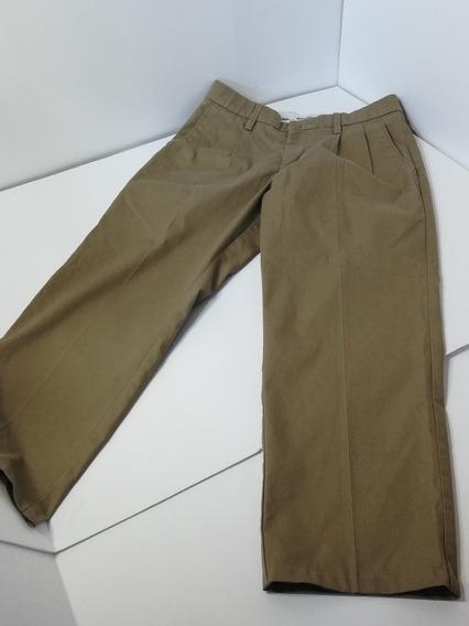 Pantalón Joven Niño Kaki 30 X 30 Motion Comfort Classic Fit