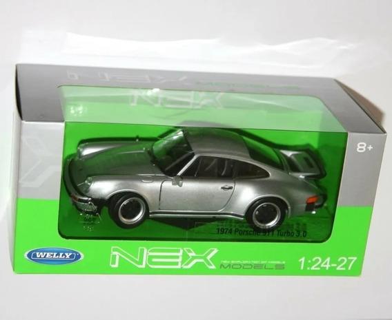 Auto De Colección Welly 1:24 Porsche 911 Turbo 1974