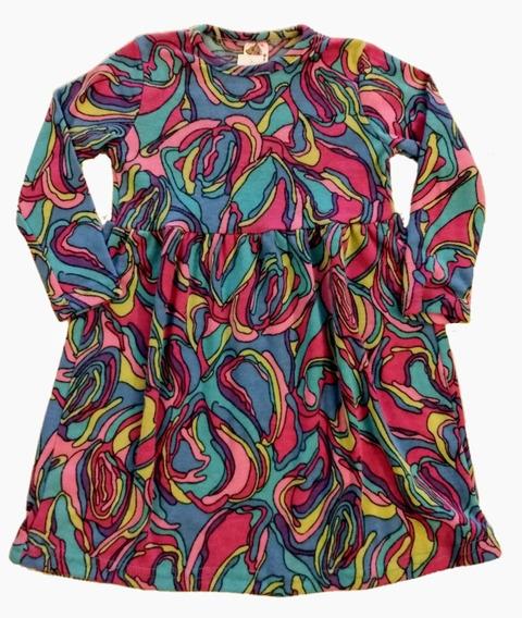 Vestido De Lanilla, Muy Suave, Para Nena