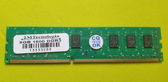 Memória Ram 8gb 1600 Ddr3, 2mtecnologia