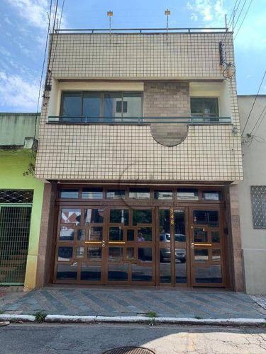 Imagem 1 de 29 de Salão, 548 M² - Venda Por R$ 3.000.000,00 Ou Aluguel Por R$ 12.000,00/mês - Centro - Santo André/sp - Sl0300
