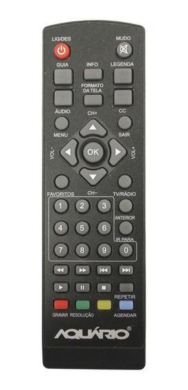 Controle Remoto Conversor Digital Aquario Dtv-5000 Original