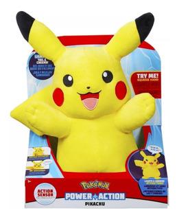 Muñeco Pikachu Electrónico Pokemon Interactivo Envio Gratis