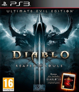 Diablo 3 Iii Reaper Of Souls Ultimate Edition Ps3