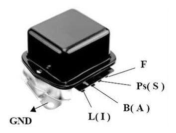 Regulador De Alternador Tipo Delco 2 Elem. 12v Elect.