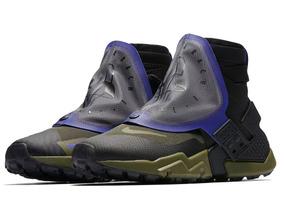 Tênis Nike Air Huarache Gripp Qs Black Olive