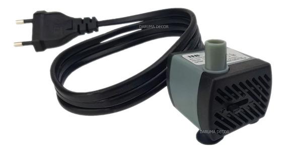Motor Bomba Para Fontes De Água Aquário 200l/h Hbo 300 2,5 W