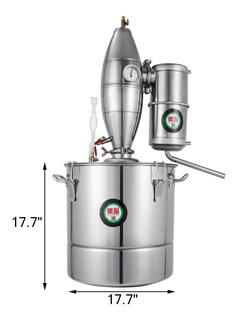 Destiladora - Fermentadora De Alcohol, Cerveza, Soja 70 Lts