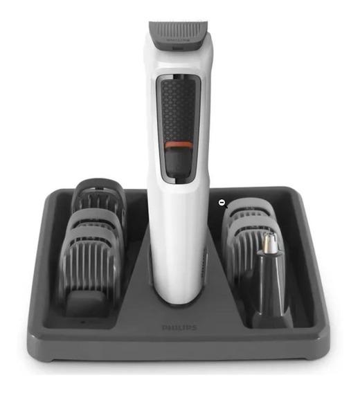 Barbeador Aparador De Pelos Cabelo 7 Em 1 Philips Mg3721/77