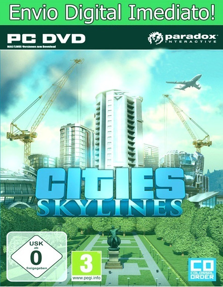 Cities Skylines Pc Hd Original Envio Imediato!