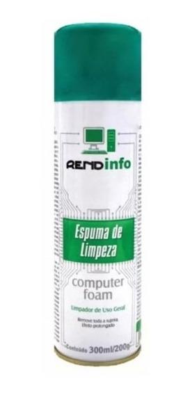 Spray De Espuma Para Limpeza De Eletrônicos Rendinfo 200g