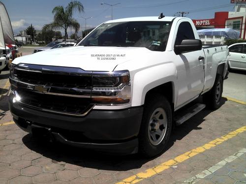 Imagen 1 de 15 de Chevrolet Silverado 2017 Ls 6 Cil Aut  Eng $ 71,600