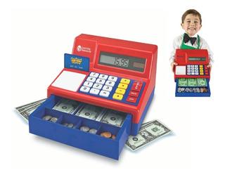 Caja Registradora Con Calculadora Pretend & Play