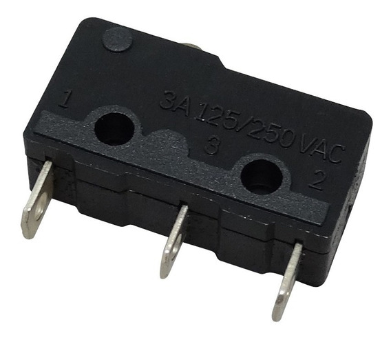Chave Micro Switch 3a 125v Ac - Anl-sm2-0300a 50 Unid