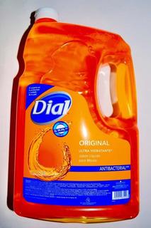 Jabón Líquido Para Manos Antibacterial Dial 3.78l
