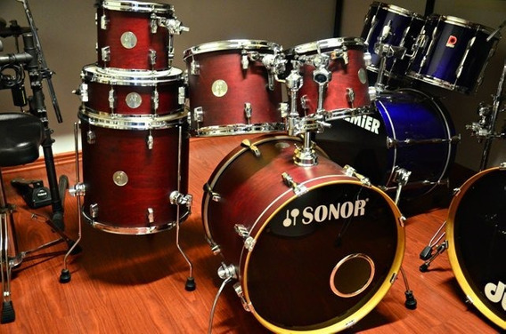 Bateria Sonor Force 2005 6 Tambores Shell Pack ( Trocas )