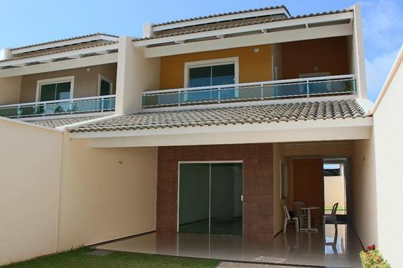 Casa Em Sapiranga, Fortaleza/ce De 165m² 4 Quartos À Venda Por R$ 420.000,00 - Ca230609