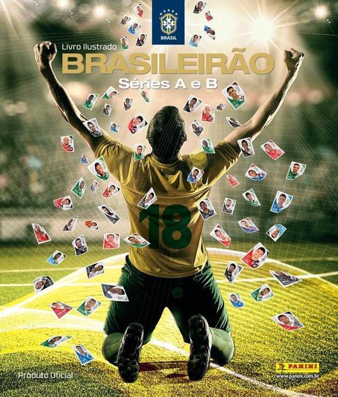 Álbum Campeonato Brasileiro 2018 (capa Dura) Com 10 Envelop