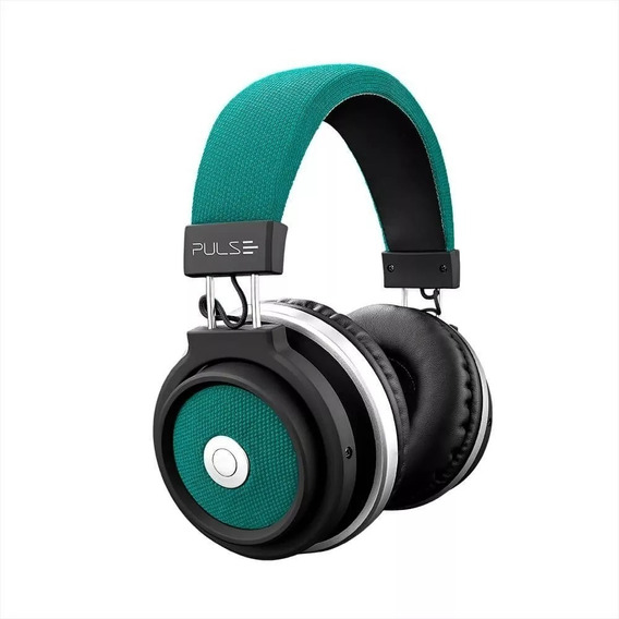 Fone De Ouvido Bluetooth Large Verde Pulse- Ph231